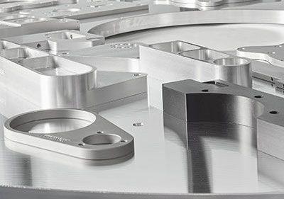 esempio piastre e staffe alluminio